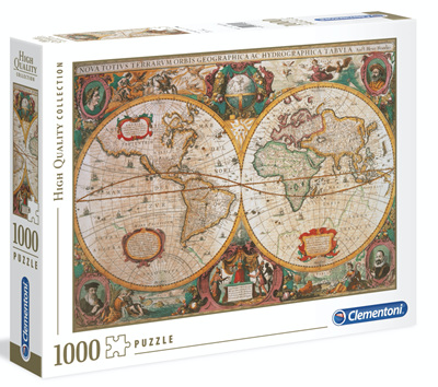 Clementoni 1000 Piece Jigsaw Puzzle: Old Map