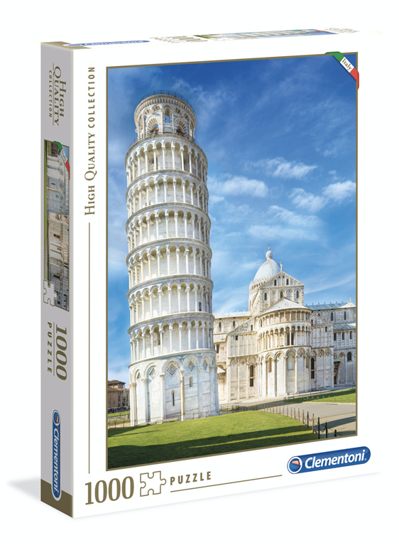 Clementoni 1000 Piece Jigsaw Puzzle Pisa available at www.puzzlesnz.co.nz