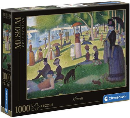 Clementoni 1000 Piece Jigsaw Puzzle: Seurat - Sunday Afternoon La Grande Jatte