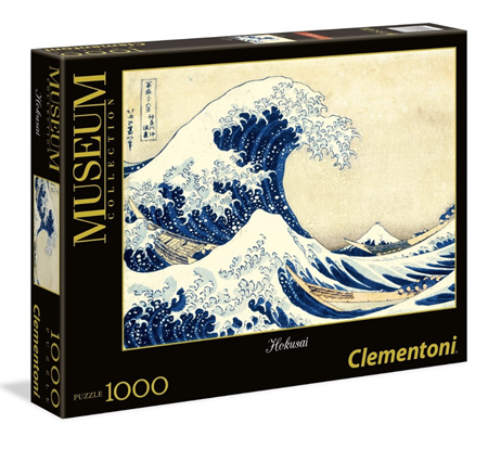 Clementoni 1000 Piece Jigsaw Puzzle: The Great Wave