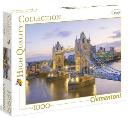 Clementoni 1000 Piece Jigsaw Puzzle: Tower Bridge