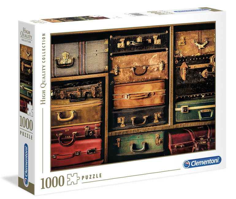 Clementoni 1000 Piece Jigsaw Puzzle: Travel buy at www.puzzlesnz.co.nz