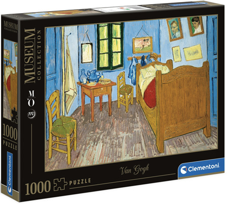 Clementoni 1000 Piece Jigsaw Puzzle: Van Gogh - Bedroom At Arles
