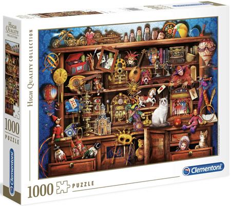 Clementoni 1000 Piece Jigsaw Puzzle: Ye Old Shoppe