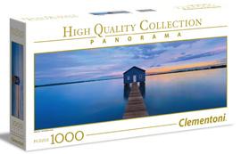 Clementoni 1000 Piece Panorama Jigsaw Puzzle: Blue Calm