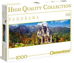 Clementoni 1000 Piece Panorama Jigsaw Puzzle: Neuschwanstein Castle