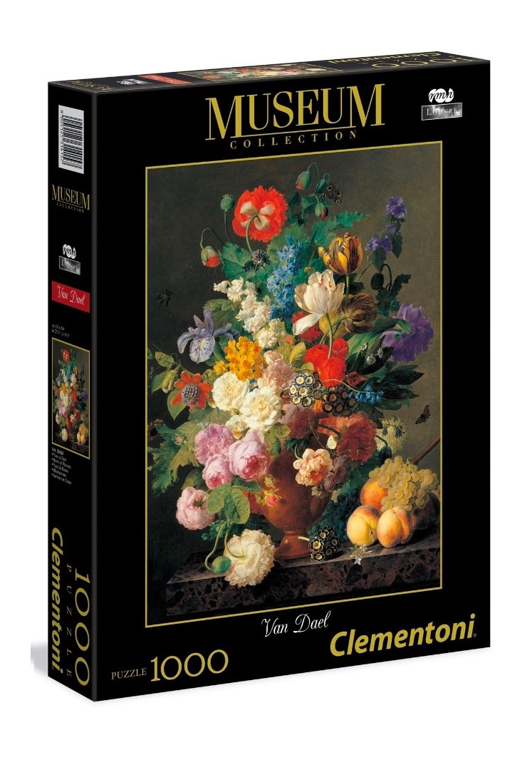 Clementoni 1000 piece puzzle Bowel of Flowers buy at www.puzzlesnz.co.nz