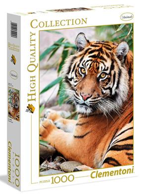 Clementoni 1000 Piece Jigsaw Puzzle: Sumatran Tiger