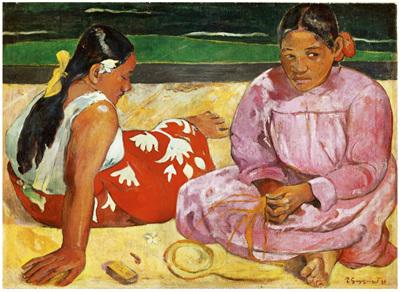 Clementoni 1000 Piece Jigsaw Puzzle: Taihitian Women On The Beach