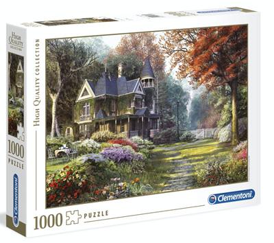Clementoni 1000 Piece Jigsaw Puzzle: Victorian Gardens