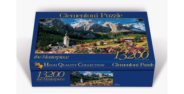 Clementoni 13200 Piece Jigsaw Puzzle Dolomites Italy buy at www.puzzlesnz.co.nz