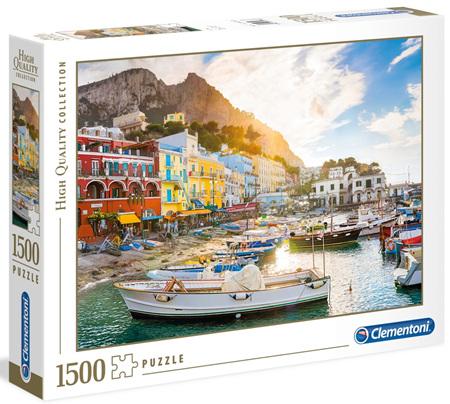 Clementoni 1500 Piece  Jigsaw Puzzle - Capri