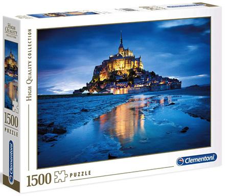Clementoni 1500 Piece Jigsaw Puzzle: Mont Saint-Michel