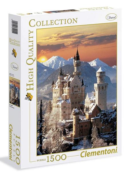 Clementoni 1500 Piece Jigsaw Puzzle: Neuschwanstein Castle