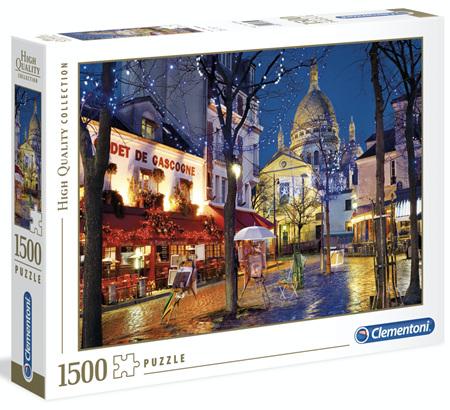 Clementoni 1500 Piece Jigsaw Puzzle: Paris Montmartre