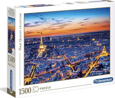 Clementoni 1500 Piece Jigsaw Puzzle: Paris View