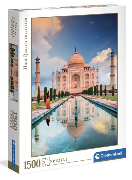 Clementoni 1500 Piece Jigsaw Puzzle: Taj Mahal