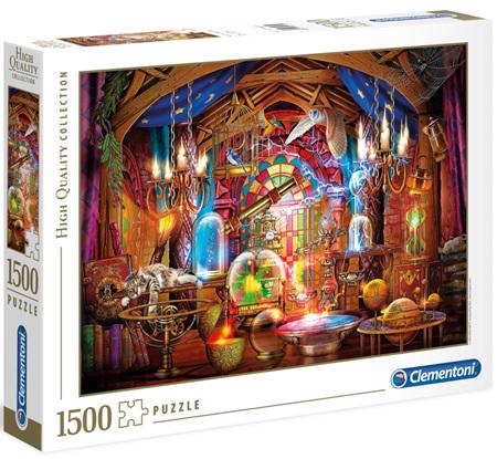 Clementoni 1500 Piece Jigsaw Puzzle: Wizards Workshop