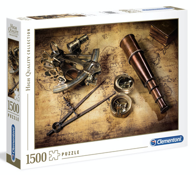 Clementoni 1500 Piece Jigsaw Puzzle: Course to The Treasure