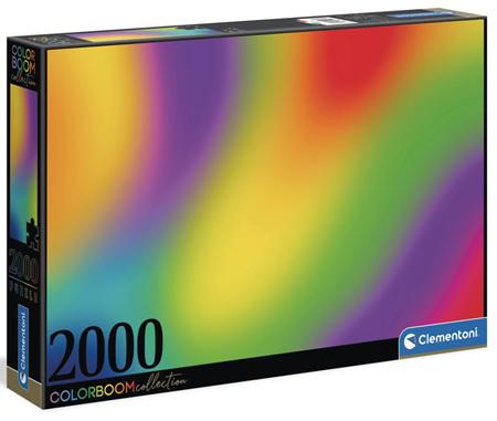 Clementoni 2000 Piece Jigsaw Puzzle: Colour Bloom - The Gradient