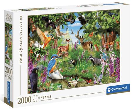 Clementoni 2000 Piece Jigsaw Puzzle: Fantastic Forest