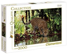 Clementoni 2000 Piece Jigsaw Puzzle: Leopard