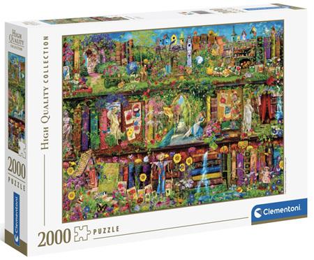 Clementoni 2000 Piece Jigsaw Puzzle: The Garden Shelf