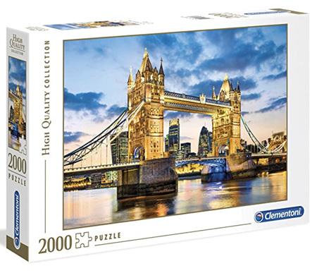 Clementoni 2000 Piece Jigsaw Puzzle: Tower Bridge At Dusk