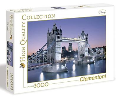 Clementoni 3000 Piece Jigsaw Puzzle: London Tower Bridge