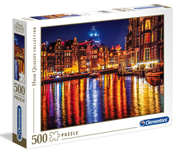 Clementoni 500 Piece Jigsaw Puzzle: Amsterdam