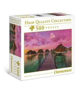 Clementoni 500 Piece  Jigsaw Puzzle: Colourful Paradise