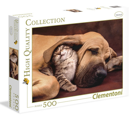 Clementoni 500 Piece Jigsaw Puzzle: Cuddles