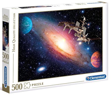 Clementoni 500 Piece Jigsaw Puzzle: International Space Station