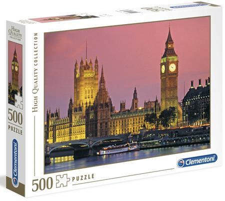 Clementoni 500 Piece Jigsaw Puzzle: London
