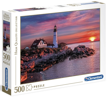 Clementoni 500 Piece Jigsaw Puzzle: Portland Head Light