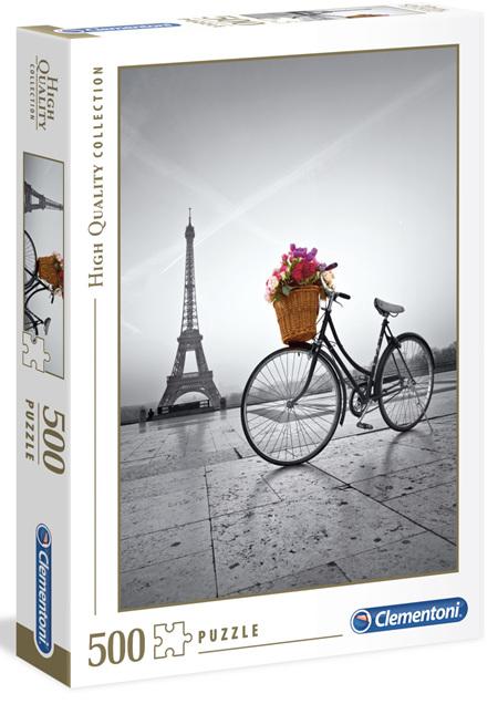 Clementoni 500 Piece Jigsaw Puzzle: Romantic Promenade Paris