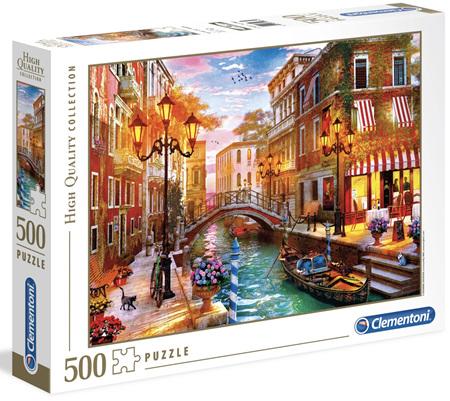 Clementoni 500 Piece Jigsaw Puzzle: Sunset Over Venice