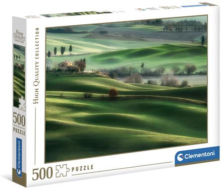 Clementoni 500 Piece Jigsaw Puzzle: Tuscany Hills