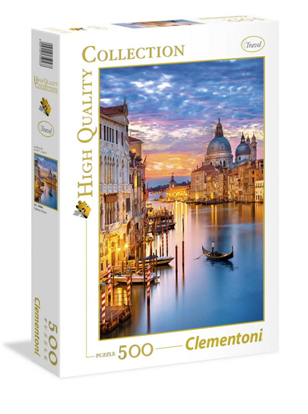 Clementoni 500 Piece Jigsaw Puzzle: Venice Lighting
