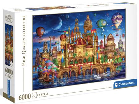 Clementoni 6000 Piece Jigsaw Puzzle: Downtown