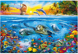 Clementoni 6000 Piece Jigsaw Puzzle: Under The Water