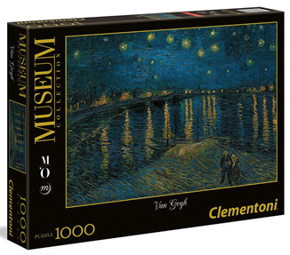 Clementoni 1000 Piece Jigsaw Puzzle: Van Gogh - Starry Night Over The Rhone
