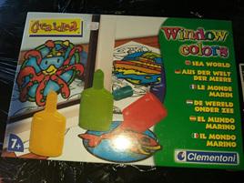 Clementoni Window Colours - Sea World
