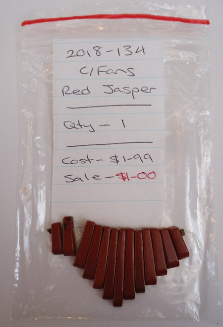 Cleopatra Fans - Red Jasper