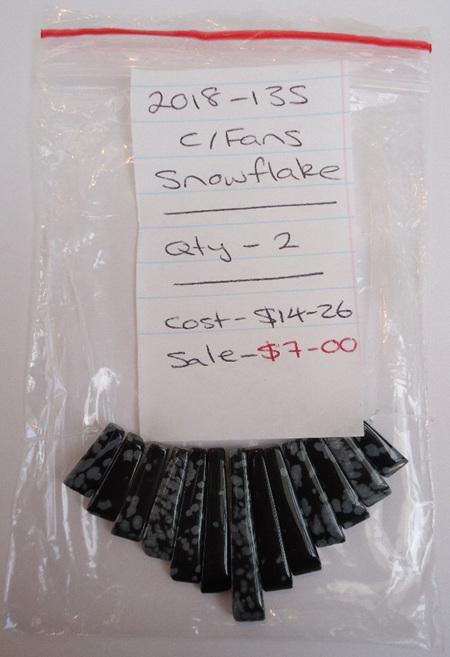 Cleopatra Fans - Snowflake