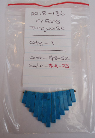 Cleopatra Fans - Turquoise