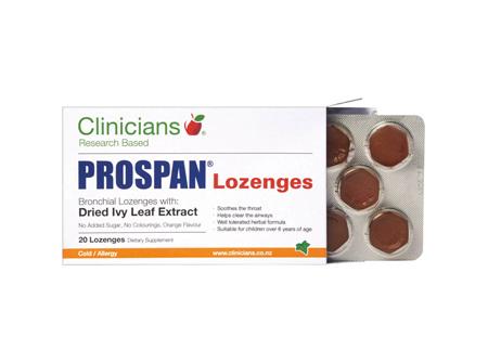 CLINIC. Prospan Lozenges 20pk