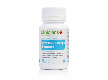 CLINIC. Stress & Energy Supp 60VCap