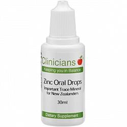 CLINIC. Zinc Oral drops 1mg 30ml