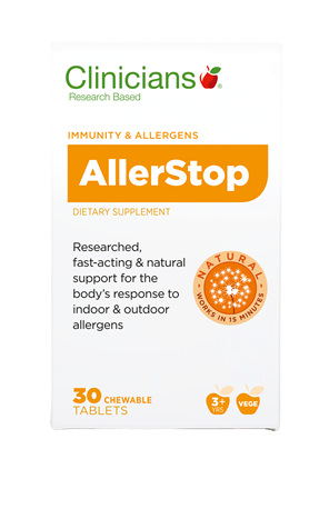CLINICIANS ALLERSTOP TAB 30
